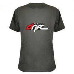 Камуфляжная футболка Drift Formula - FatLine