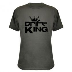 Камуфляжная футболка Drift King - FatLine