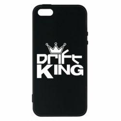 Чехол для iPhone5/5S/SE Drift King, FatLine  - купить со скидкой