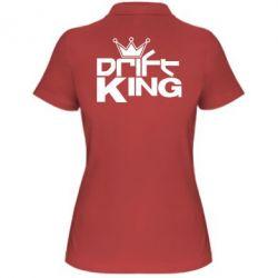 Женская футболка поло Drift King - FatLine