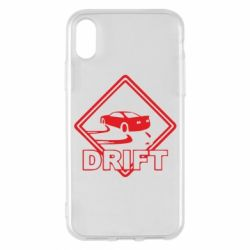 Чехол для iPhone X Drift - FatLine