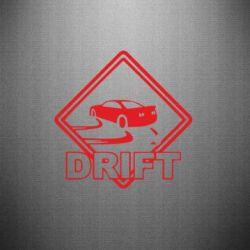 Наклейка Drift
