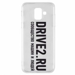Чехол для Samsung A6 2018 Drive2.ru