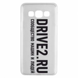 Чехол для Samsung A3 2015 Drive2.ru - FatLine