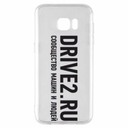 Чехол для Samsung S7 EDGE Drive2.ru - FatLine