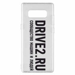 Чехол для Samsung Note 8 Drive2.ru - FatLine