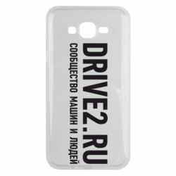 Чехол для Samsung J7 2015 Drive2.ru - FatLine