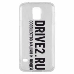 Чехол для Samsung S5 Drive2.ru - FatLine