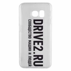 Чехол для Samsung S6 EDGE Drive2.ru - FatLine