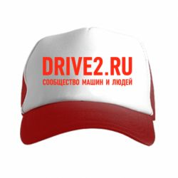 Кепка-тракер Drive2.ru - FatLine