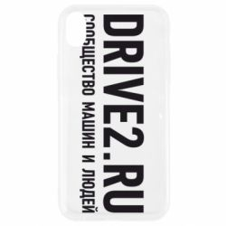 Чехол для iPhone XR Drive2.ru - FatLine