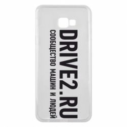 Чехол для Samsung J4 Plus 2018 Drive2.ru - FatLine