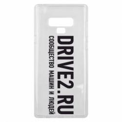 Чехол для Samsung Note 9 Drive2.ru - FatLine
