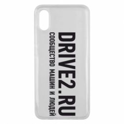 Чехол для Xiaomi Mi8 Pro Drive2.ru - FatLine