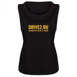 Женская майка Drive2.ru - FatLine