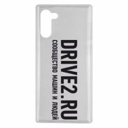 Чехол для Samsung Note 10 Drive2.ru