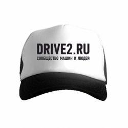 Детская кепка-тракер Drive2.ru