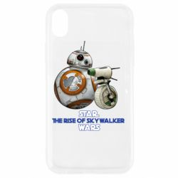 Чехол для iPhone XR Droids BB 8 and  D O  star wars the rise of skywalker