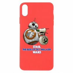 Чехол для iPhone Xs Max Droids BB 8 and  D O  star wars the rise of skywalker