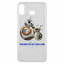 Чехол для Samsung A6s Droids BB 8 and  D O  star wars the rise of skywalker