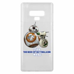 Чехол для Samsung Note 9 Droids BB 8 and  D O  star wars the rise of skywalker