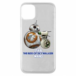 Чехол для iPhone 11 Pro Droids BB 8 and  D O  star wars the rise of skywalker