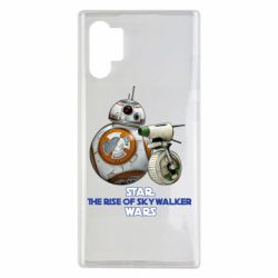 Чехол для Samsung Note 10 Plus Droids BB 8 and  D O  star wars the rise of skywalker