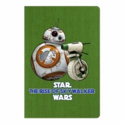 Блокнот А5 Droids BB 8 and  D O  star wars the rise of skywalker