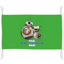 Флаг Droids BB 8 and  D O  star wars the rise of skywalker