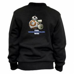 Детский бомбер Droids BB 8 and  D O  star wars the rise of skywalker