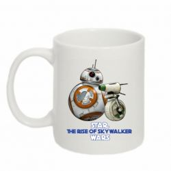 Кружка 320ml Droids BB 8 and  D O  star wars the rise of skywalker