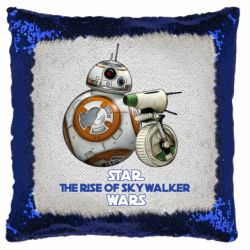 Подушка-хамелеон Droids BB 8 and  D O  star wars the rise of skywalker