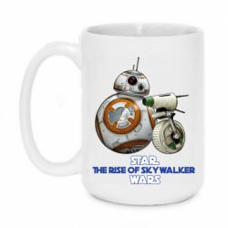 Кружка 420ml Droids BB 8 and  D O  star wars the rise of skywalker