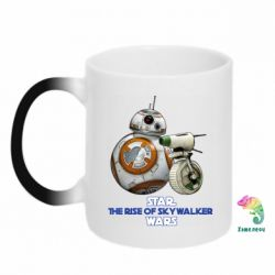 Кружка-хамелеон Droids BB 8 and  D O  star wars the rise of skywalker