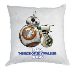 Подушка Droids BB 8 and  D O  star wars the rise of skywalker