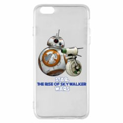 Чехол для iPhone 6 Plus/6S Plus Droids BB 8 and  D O  star wars the rise of skywalker