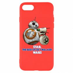Чехол для iPhone 7 Droids BB 8 and  D O  star wars the rise of skywalker