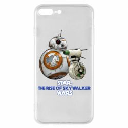 Чехол для iPhone 7 Plus Droids BB 8 and  D O  star wars the rise of skywalker