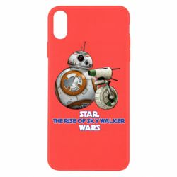 Чехол для iPhone X/Xs Droids BB 8 and  D O  star wars the rise of skywalker