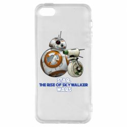 Чехол для iPhone5/5S/SE Droids BB 8 and  D O  star wars the rise of skywalker