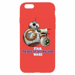 Чехол для iPhone 6/6S Droids BB 8 and  D O  star wars the rise of skywalker