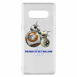 Чехол для Samsung Note 8 Droids BB 8 and  D O  star wars the rise of skywalker