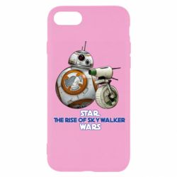 Чехол для iPhone 8 Droids BB 8 and  D O  star wars the rise of skywalker