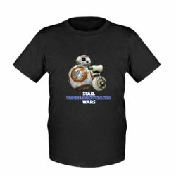 Детская футболка Droids BB 8 and  D O  star wars the rise of skywalker