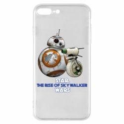 Чехол для iPhone 8 Plus Droids BB 8 and  D O  star wars the rise of skywalker