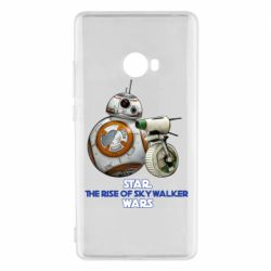 Чехол для Xiaomi Mi Note 2 Droids BB 8 and  D O  star wars the rise of skywalker