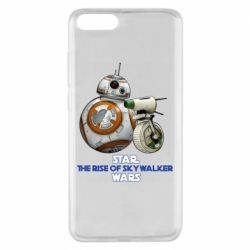 Чехол для Xiaomi Mi Note 3 Droids BB 8 and  D O  star wars the rise of skywalker