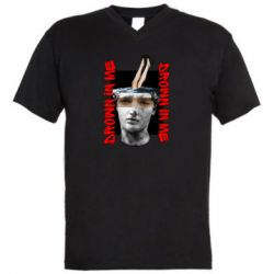 Чоловіча футболка з V-подібним вирізом Drown in me