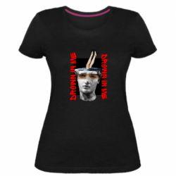 Жіноча стрейчева футболка Drown in me
