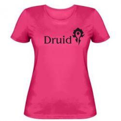 Женская футболка Druid Orc - FatLine